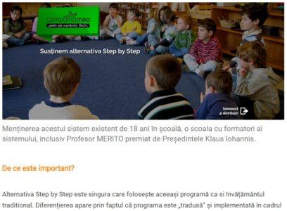 """Situație îngrijorătoare la Școala """"Ionel Teodoreanu"""". Apel la dialog pentru asigurarea accesului la educație de calitate"""