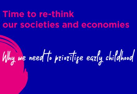 Serviciile publice pentru copilăria timpurie, pilon în dezvoltarea societăților și a economiilor