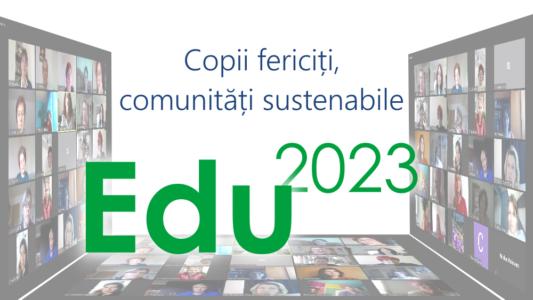 Edu2023 – O nouă sesiune de formare continuă pentru profesioniștii din educația preșcolară