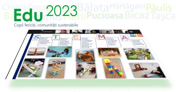 Atelierele Edu2023: Curriculum-ul pentru Educație Timpurie din perspectiva educației STEAM